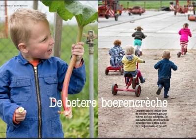 Reportage: boerencrèche