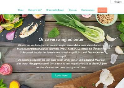Mathijs Maaltijdbox: teksten site